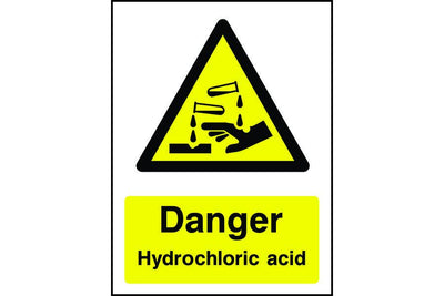 Chemical Hazard Warning signs