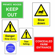 Countryside and Agriculturla Safety Signs