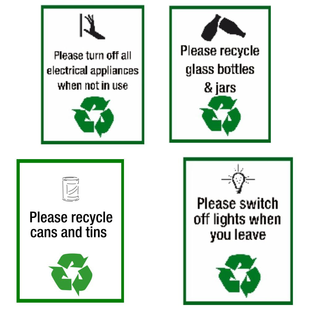 Recycling Safety Signs