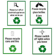 Recycling Safey Signs