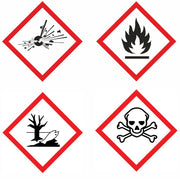 Dangerous Substance Safety Signs