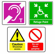 DDA Safety Signs