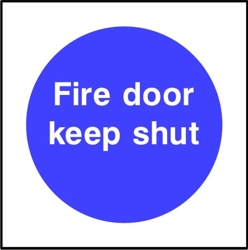 Fire Prevention Door Signs