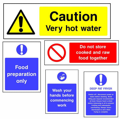 Catering and Food Hygiene Safety Signs