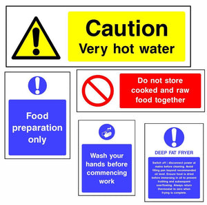 Food & Hygiene Safety Signs