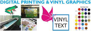 Digital Printing and Vinyl Graphics by SK Signs and Labels