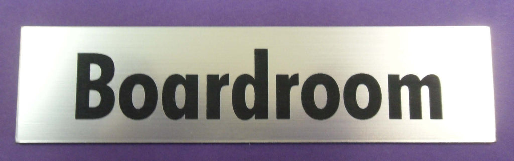 Engraved Acrylic Laminate Boardroom Door Sign