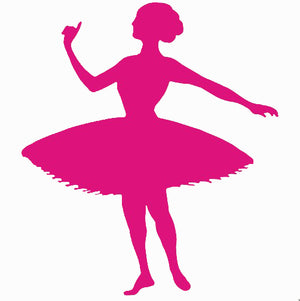 Ballerina Self Adhesive Vinyl Graphic