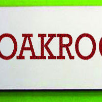 Engraved Plastic Cloakroom Door Sign