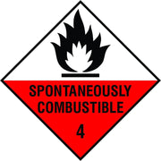 Spontaneously Combustible diamond sign