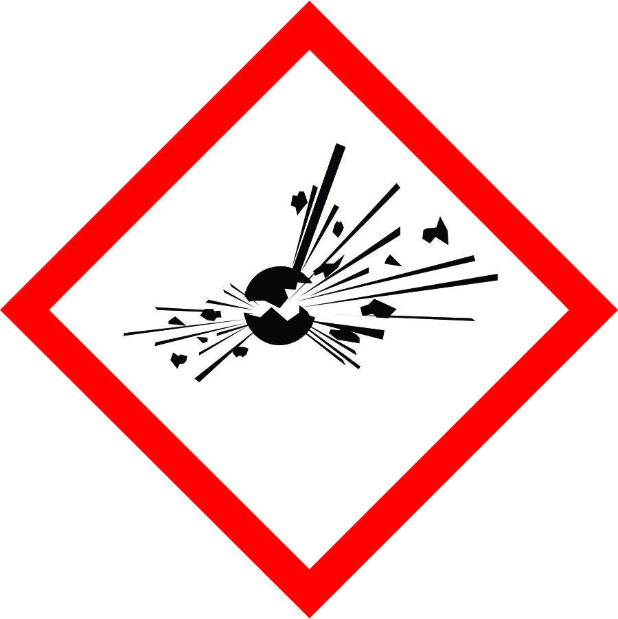 International Explosive Symbol sign