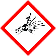International Explosive Symbol labels