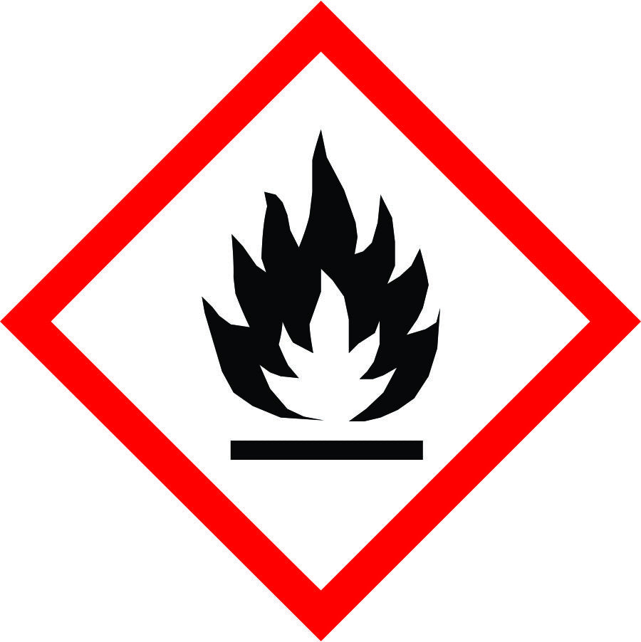 International Flammable Symbol sign