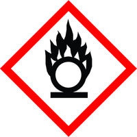 New Flammable Symbol Sign