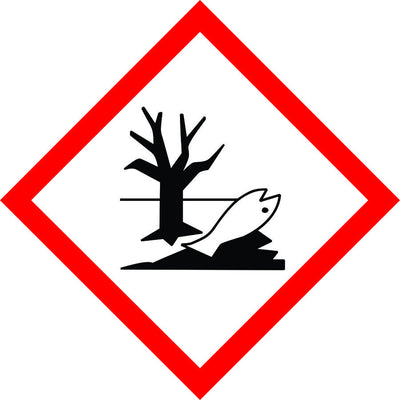 Danger to the Environment Symbol sign