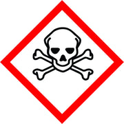 International Toxic Symbol sign