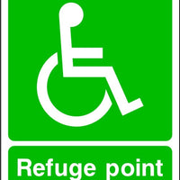 Refuge Point sign