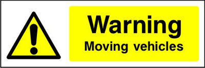 Warning Compressed air safety sign