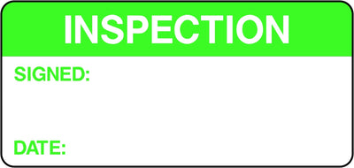Inspection Labels
