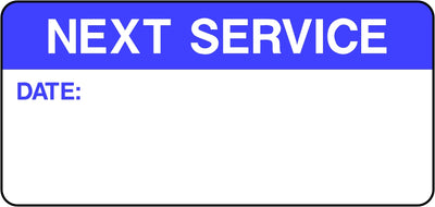 Next Service Labels