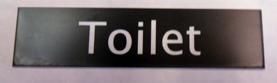 Engraved Acrylic Laminate Toilet Door Sign