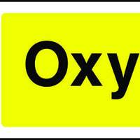 Oxygen Warning Sign