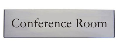 Engraved Aluminium Conference Room Door Sign