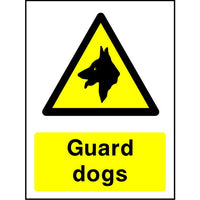 Guard Dogs sign