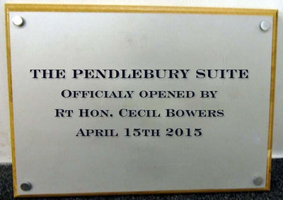 A5 Engraved Aluminium Plaque