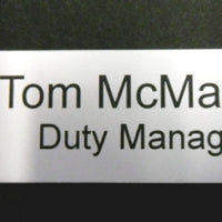 Engraved Badge