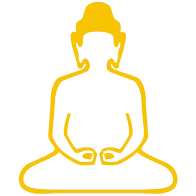 Buddha Self Adhesive Vinyl Graphic