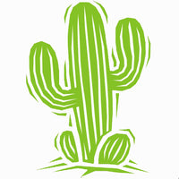 Cactus Self Adhesive Vinyl Graphic