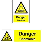 Danger Chemicals Sign