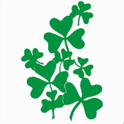 Clover Leaves Self Adhesive Vinyl Graphic