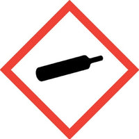 International Compressed Gas Symbol sign