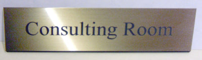 Engraved Acrylic Laminate Consulting Room Door Sign