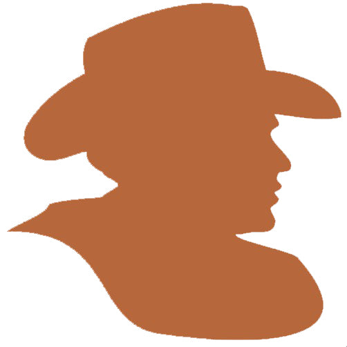 Cowboy Self Adhesive Vinyl Graphic
