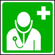 Doctor symbol first aid sign