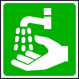 First Aid Hand Wash Point sign
