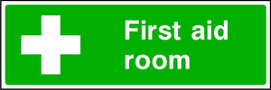 First Aid Room safety sign