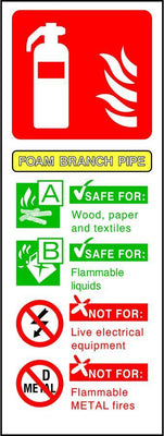 Foam Branch Pipe Fire Extinguisher