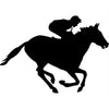 Horse Racing Vinyl Graphic