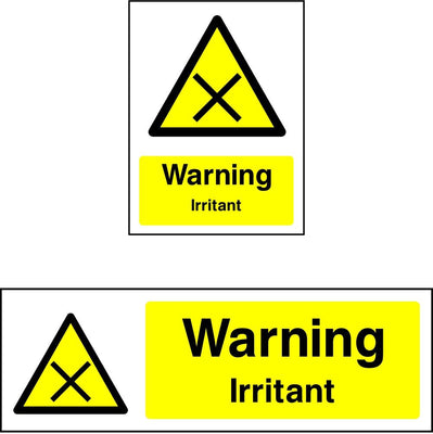 Warning Irritant Sign