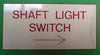 Engraved Label 150mm x 75mm