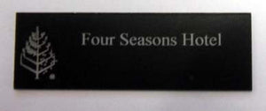 Engraved Label 150mm x 50mm