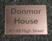 A4 Engraved Laminate Plaque