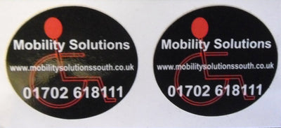 50mm round stickers