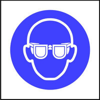 Safety Goggles symbol multi-pack signs