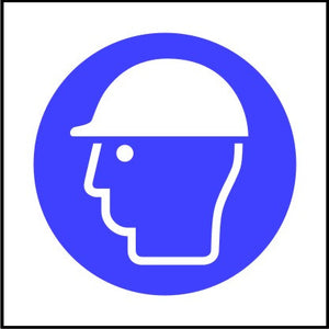 Mandatory Hard hat symbol Multi-pack signs