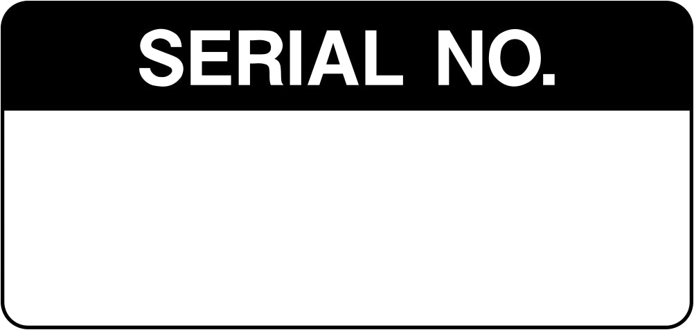 Serial No. Labels